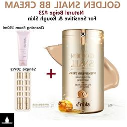 SKIN79 GOLDEN SNAIL BB CREAM SUPER+ BEBLESH BALM 45g + Clean