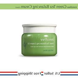 innisfree Green Tea Balancing Cream 50ml NEW + Free Sample