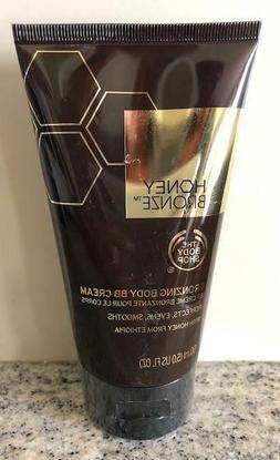 The Body Shop Honey Bronze Bronzing Body BB Cream 5.0 oz. Ne
