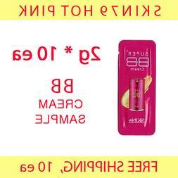 SKIN79 Hot Pink BB Cream Sample 20g  -FREE shipping, fair/li
