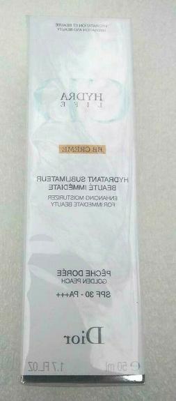 DIOR Hydra Life BB Cream Enhancing Moisturizer SPF 30 NIB Fa
