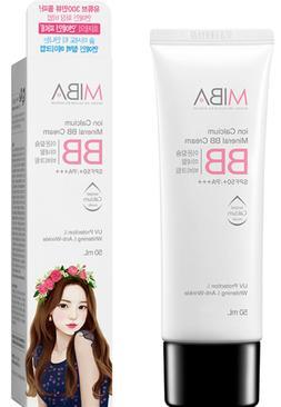 MIBA Ion Calcium Mineral BB Cream SPF50+/PA+++ , US Seller!