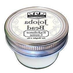 4 oz Jojoba Beads Exfoliator Creme with 100% biodegradeable
