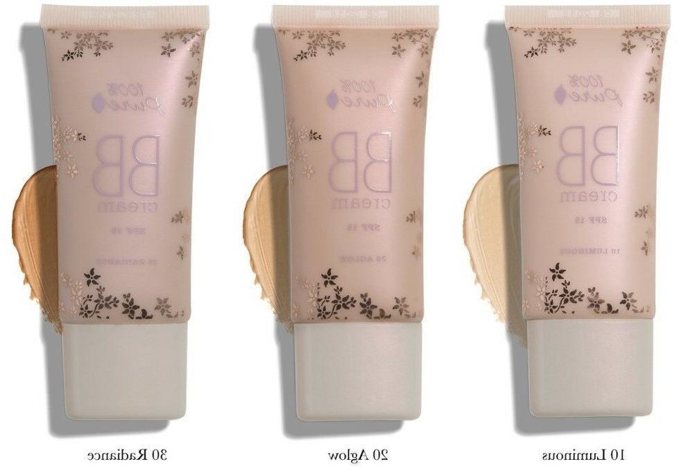 100% Pure Natural Fruit Pigmented BB Cream: 10 Luminous, 20