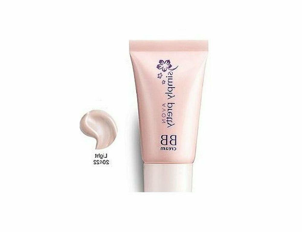 100 % Pure Avon Simply Pretty 8 In 1 BB Cream Light Free Shi