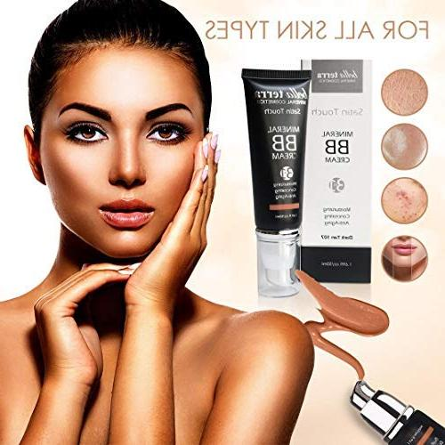 Bella 3-in-1 Buildable Coverage - to with SPF- Mineral Makeup Foundation- Hypoallergenic