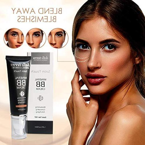 Bella 3-in-1 Tinted Moisturizer - Buildable Coverage Light to Dark Skin with Natural