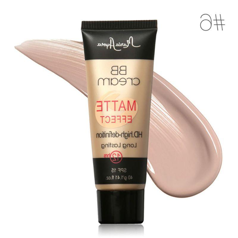 1PCS Women\'s Makeup SPF Sunscreen <font><b>BB</b></font> <font><b>Cream</b></font> natural long-lasting concealer <font><b>BB</b></font> CC <font><b>cream</b></font>