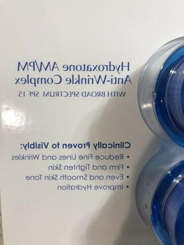 *2 Am/Pm Anti-Wrinkle Cream oz Sealed 10/20