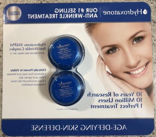 2 pack new am pm anti wrinkle