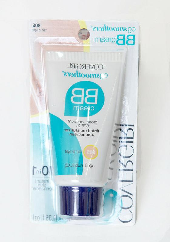 2 COVERGIRL Lightweight BB 8/18- oz