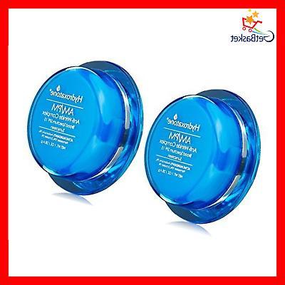 2Pack Hydroxatone AM/PM Anti-Wrinkle Complex SPF 15, 1 Fl Oz