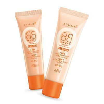 3 x Rimmel Radiance 9 in 1 SPF20 BB Cream 30mL - Light or Me