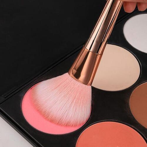 7Pcs Beauty Brush Kit Blush Powder Makeup