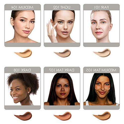 Bella 3-in-1 Tinted Moisturizer Buildable to Dark with Natural Makeup Hypoallergenic