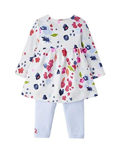 4bb1d16d6 Joules Baby Dress Set - Inky Floral Stripe - 0-3 Months - 62