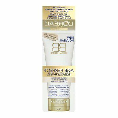 L'Oreal Paris Age Perfect BB Cream Instant Radiance, 2.5 Flu