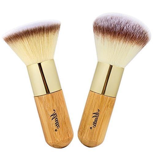 Matto Bamboo Makeup Brush Set Face Kabuki 2 Pieces - Foundat