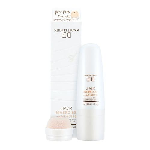 Nature Republic SPF 30 PA++ 02 Snail Solution BB Cream, 40 G