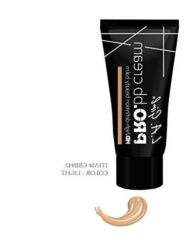 Pro Hd High-definition BB Cream with Vitamins B3 C & E.