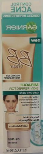 Garnier acne control BB cream light / medium BEST BY 10/16