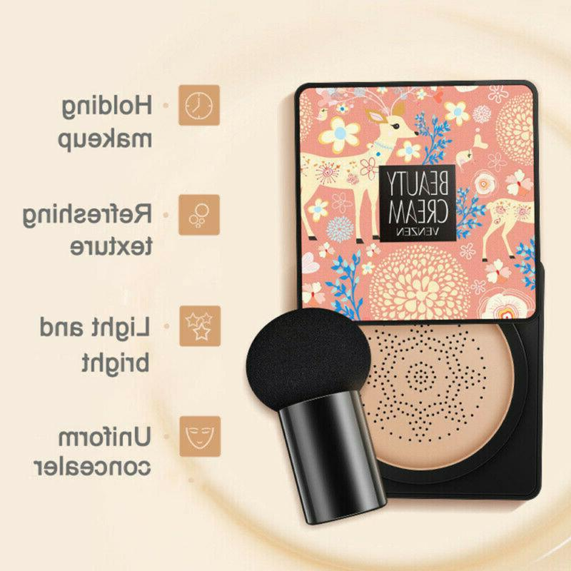Air Cushion BB Cream Waterproof Brighten Concealer Foundatio