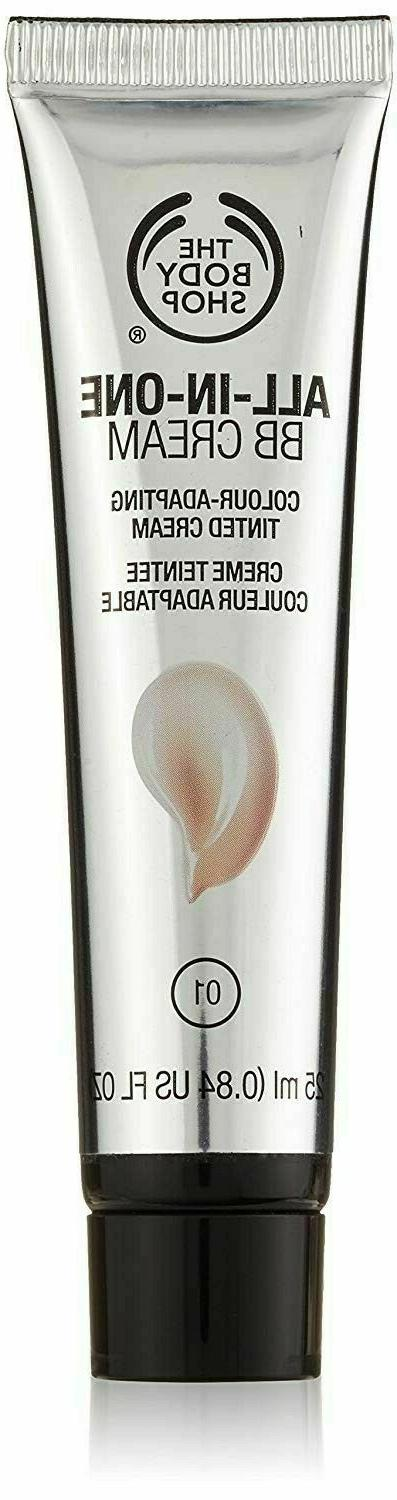 😍  The Body Shop  😍  All In One BB Cream  😍 Shade 0