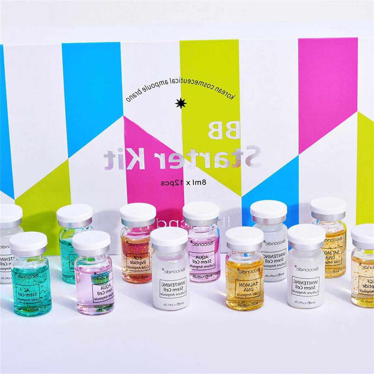 Ampoule Booster Whitening Acne White Booster Ampoule Serum Starter Kit <font><b>BB</b></font> Kit