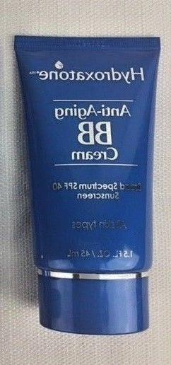 Hydroxatone Anti-Aging BB Cream Universal Color 1.5 oz NEW F
