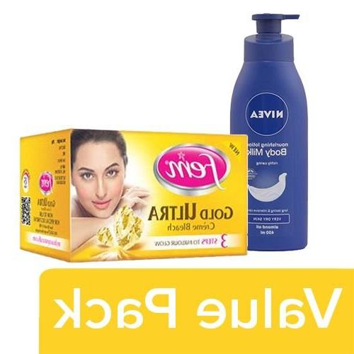 bb Combo Fem Cream Bleach- Gold Ultra 10gm + Nivea Nourishin