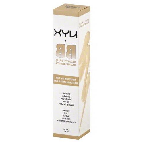 NYX BB Beauty Balm Cream - BB Cream - BBCR03 Golden, 1.0 fl.