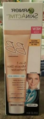 Garnier BB Cream 5 in 1 Miracle Skin Perfector, Oily Combo S