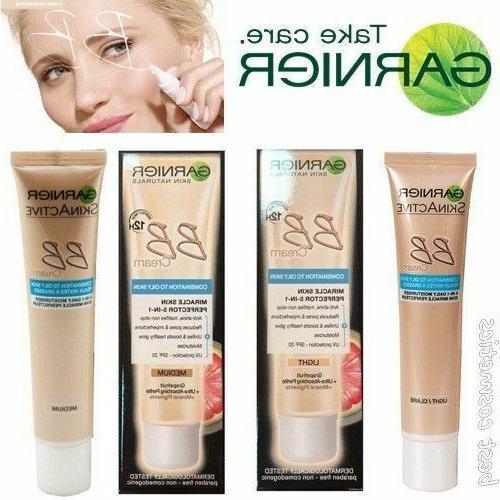 Garnier BB Cream Miracle Skin Perfector 5 1 Combination Skin