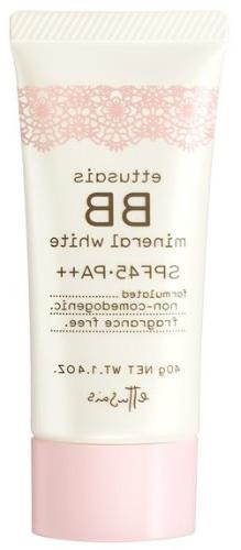 Ettusais BB Mineral White Cream No. 30 Healthy Beige, 1 Ounc
