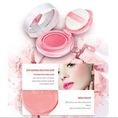 BIOAQUA Cream Cushion Blusher Blush Rouge Moisturizing