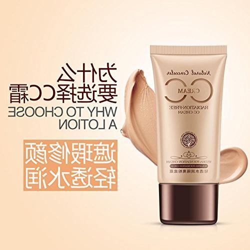 CC Cream Nude Look Makeup
