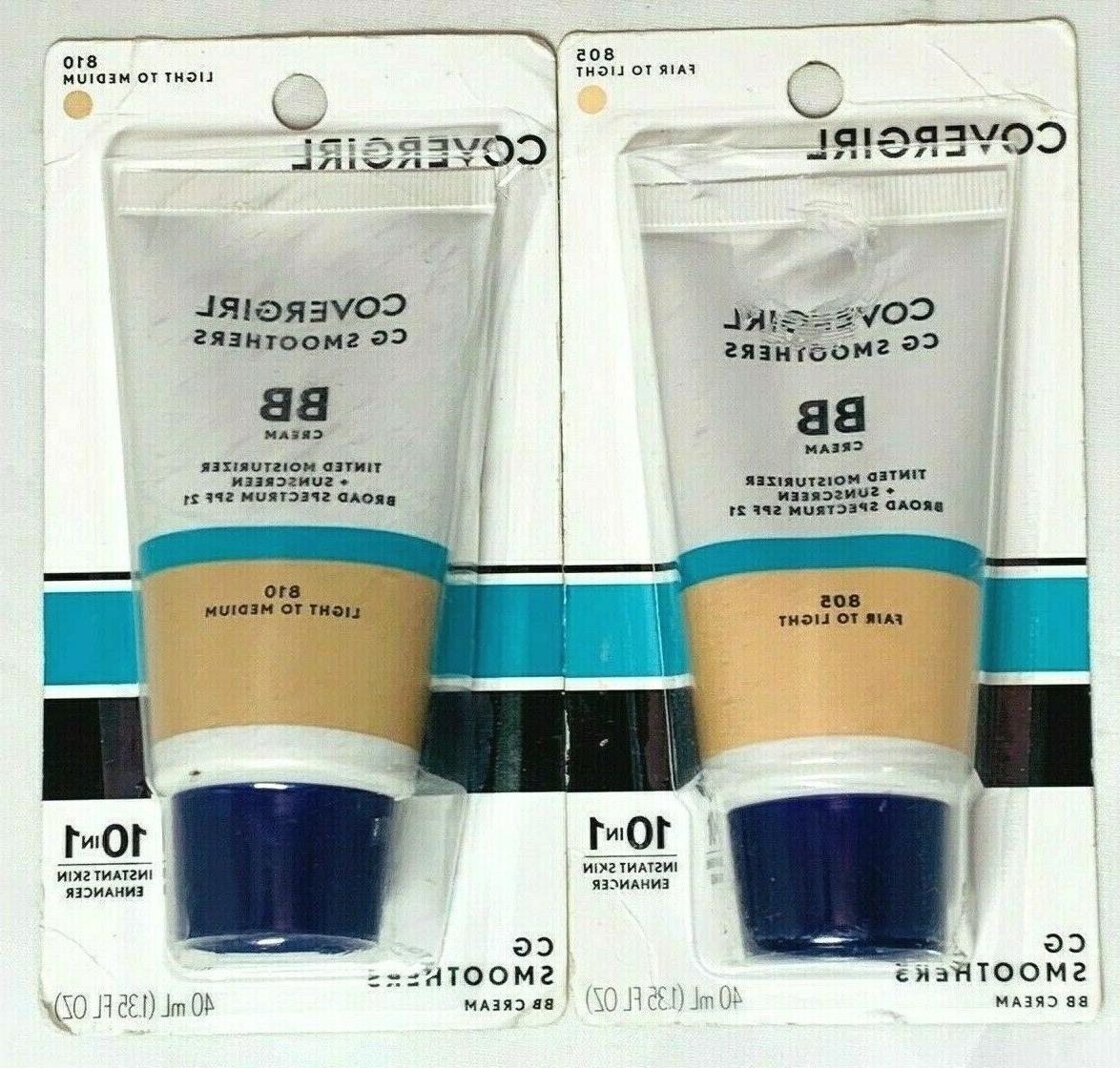 cg smoothers bb cream pick shade 805