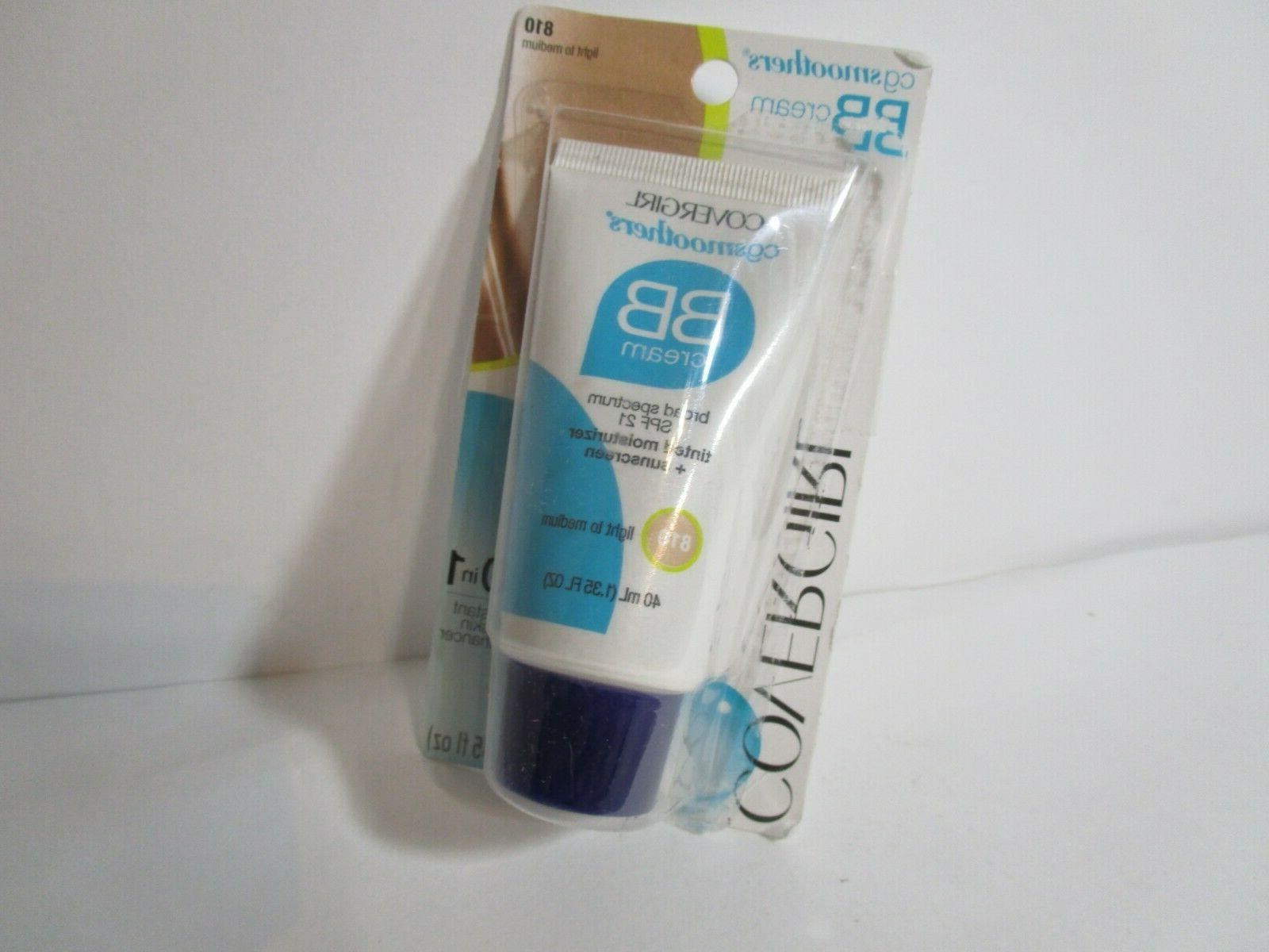 Covergirl CG Smoothers BB Cream SPF 21, Light To Medium 810,