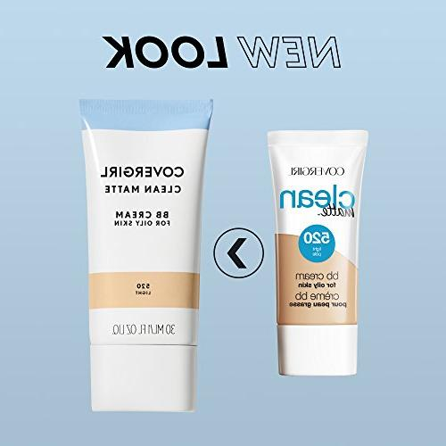 COVERGIRL Clean Matte BB Cream Medium/Deep Oily Skin,