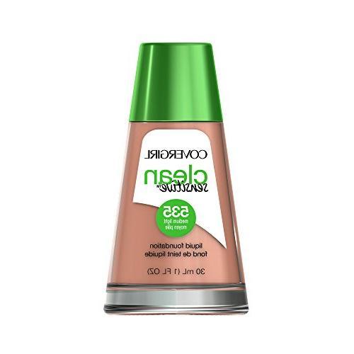 clean sensitive skin liquid foundation