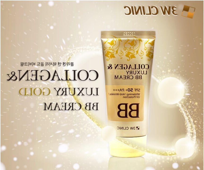 collagen luxury gold bb cream spf50 pa