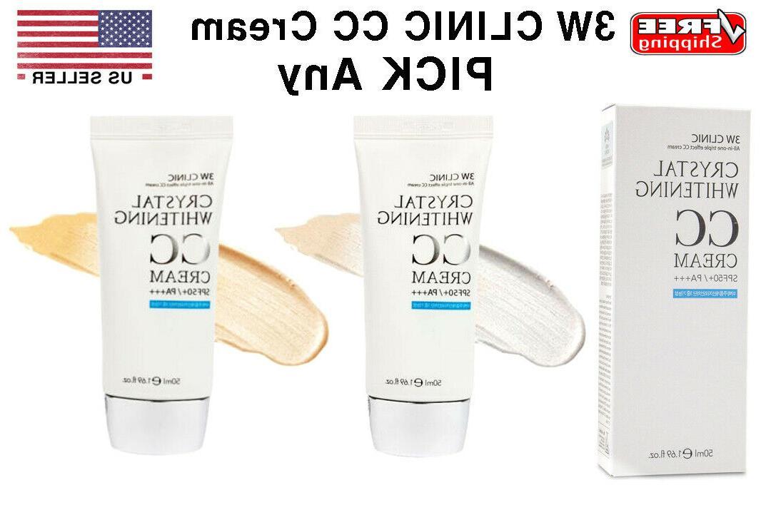 crystal cc cream spf50 pa 50 ml