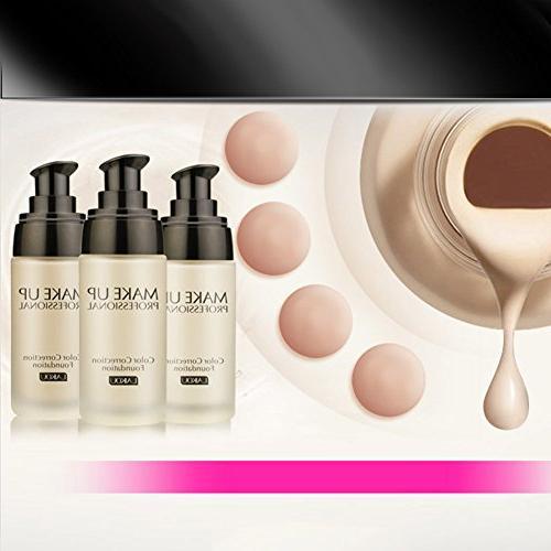 ThinkMax Foundation Liquid Cream Concealer Moisturizer Nude