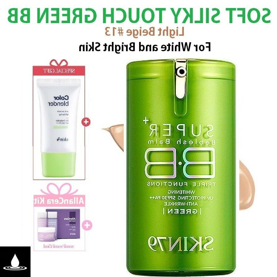 SKIN79 GREEN SUPER+ BEBLESH BALM Original BB Cream Brighteni