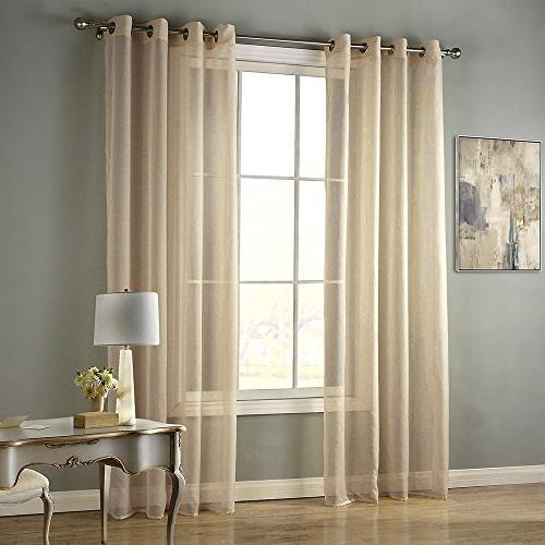 grommet semisheer curtains