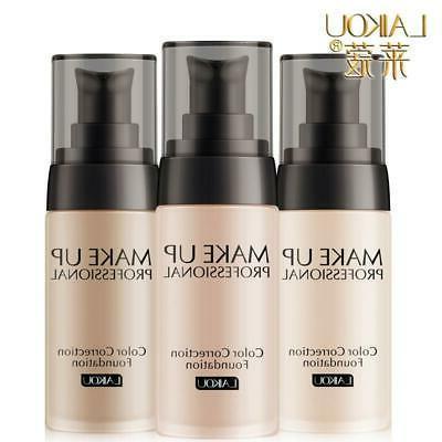 laikou brand makeup base face liquid foundation
