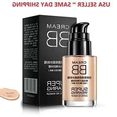 Liquid Foundation Waterproof Cosmetics Concealer BB Cream