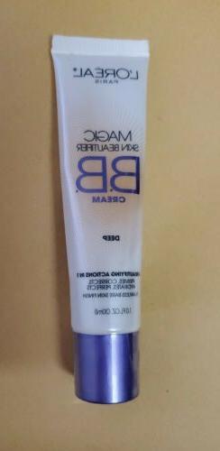 LOreal Paris Magic Skin Beautifier BB Cream in DEEP SEALED