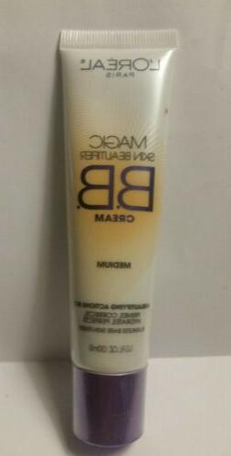 LOreal Paris Magic Skin Beautifier BB Cream,  1 fl oz medium