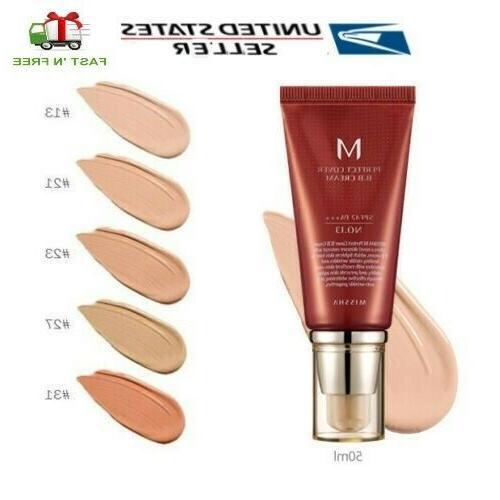 m perfect cover bb cream 4 color